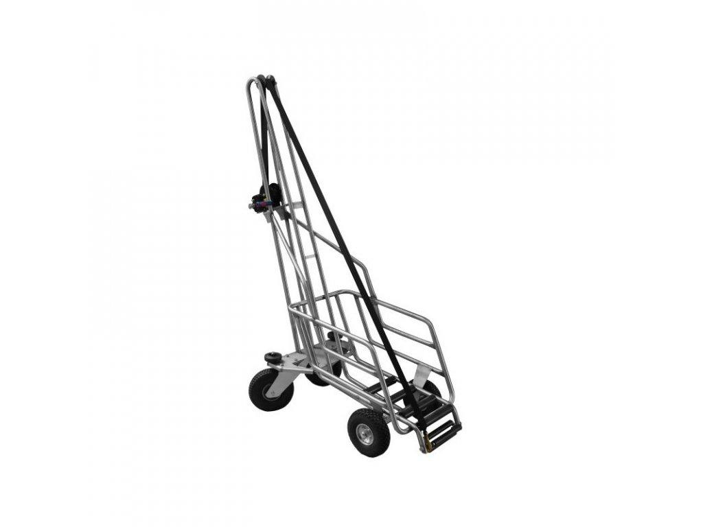 Vozík vertikální na kadavery prasnic, nerez, vč. dopravy