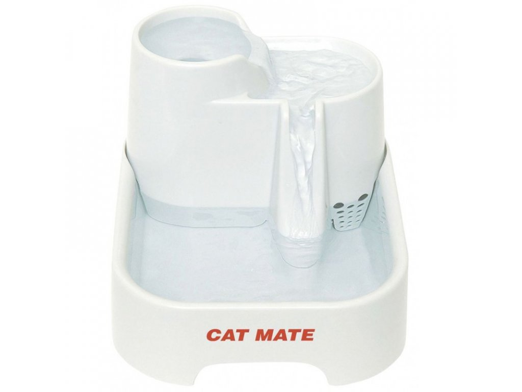 Fontána Cat Mate pro kočky a psy, 25 x 21 x 17 cm