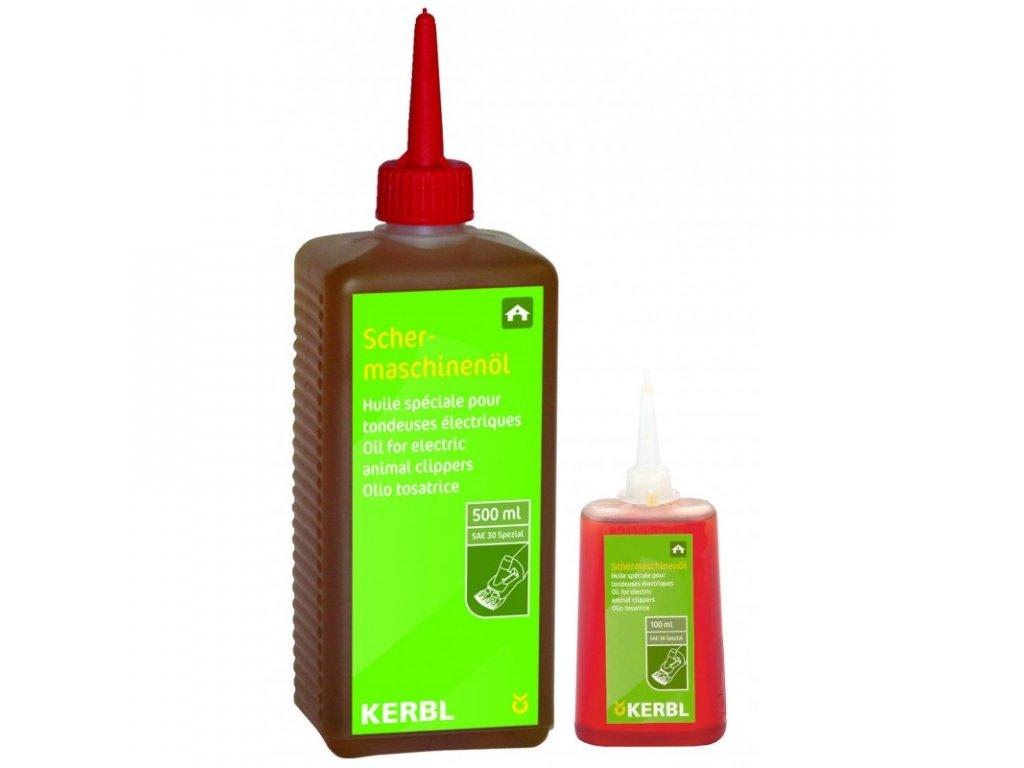 Olej mazací pro stříhací strojek