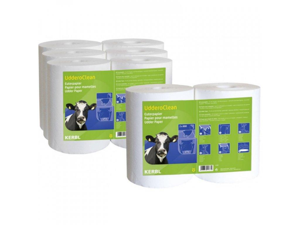 Utěrky na vemeno Uddero Clean, k použití za mokra i za sucha