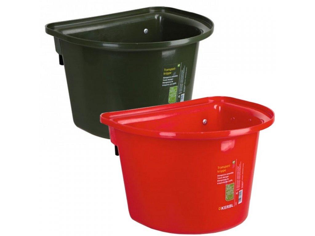 Závěsný kbelík na krmivo 12 l, bez madla