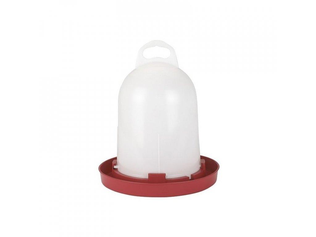 Napáječka pro drůbež plastová klobouková, bajonet