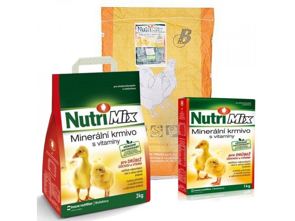 Nutri Mix pro drůbež, výkrm a odchov