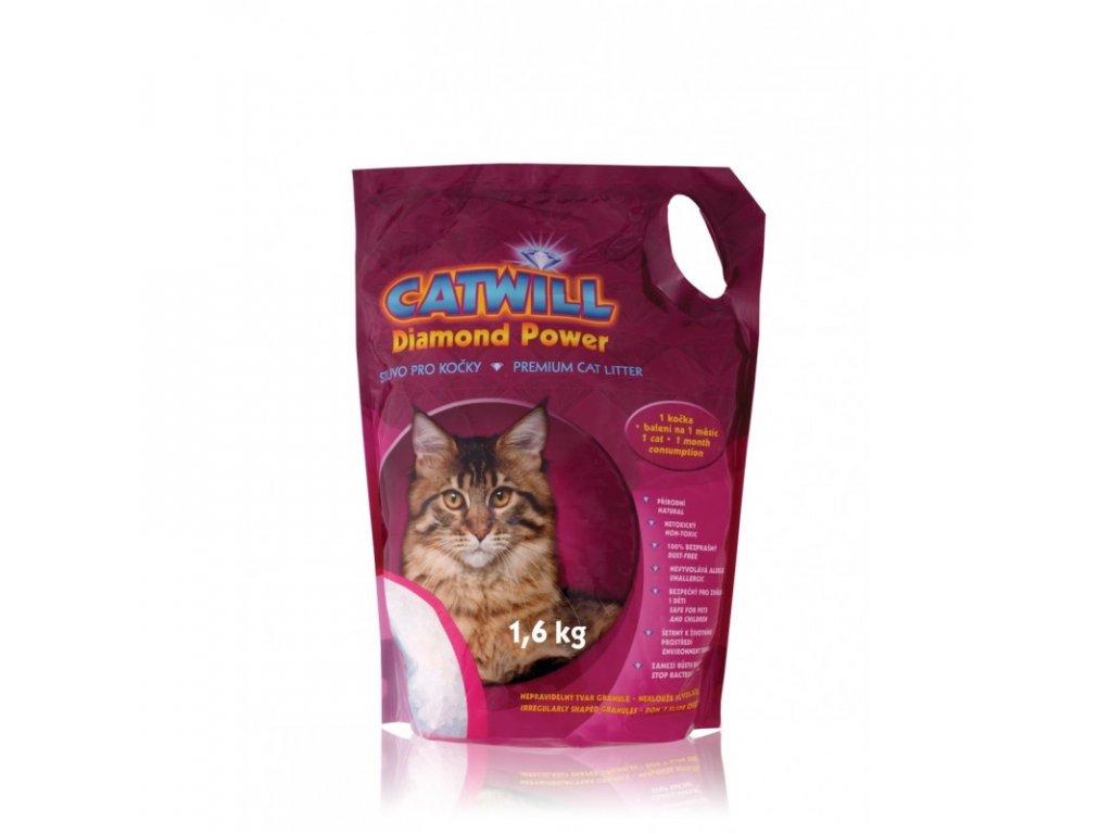 Stelivo pro kočky silikagelové Catwill