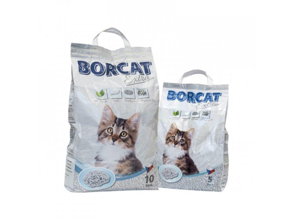 Stelivo hrudkující pro kočky a hlodavce Borcat Extra
