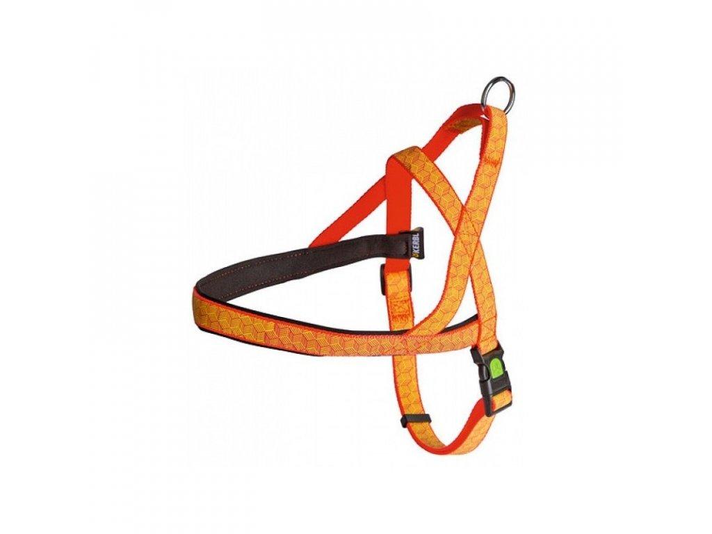 Postroj KERBL pro psy reflexní, obvod krku 58 cm