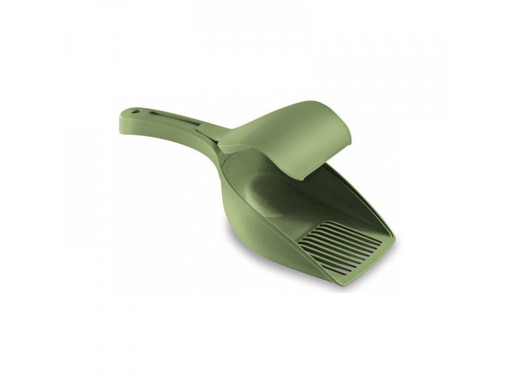 Lopatka na trus plastová TWICE, pastelově zelená
