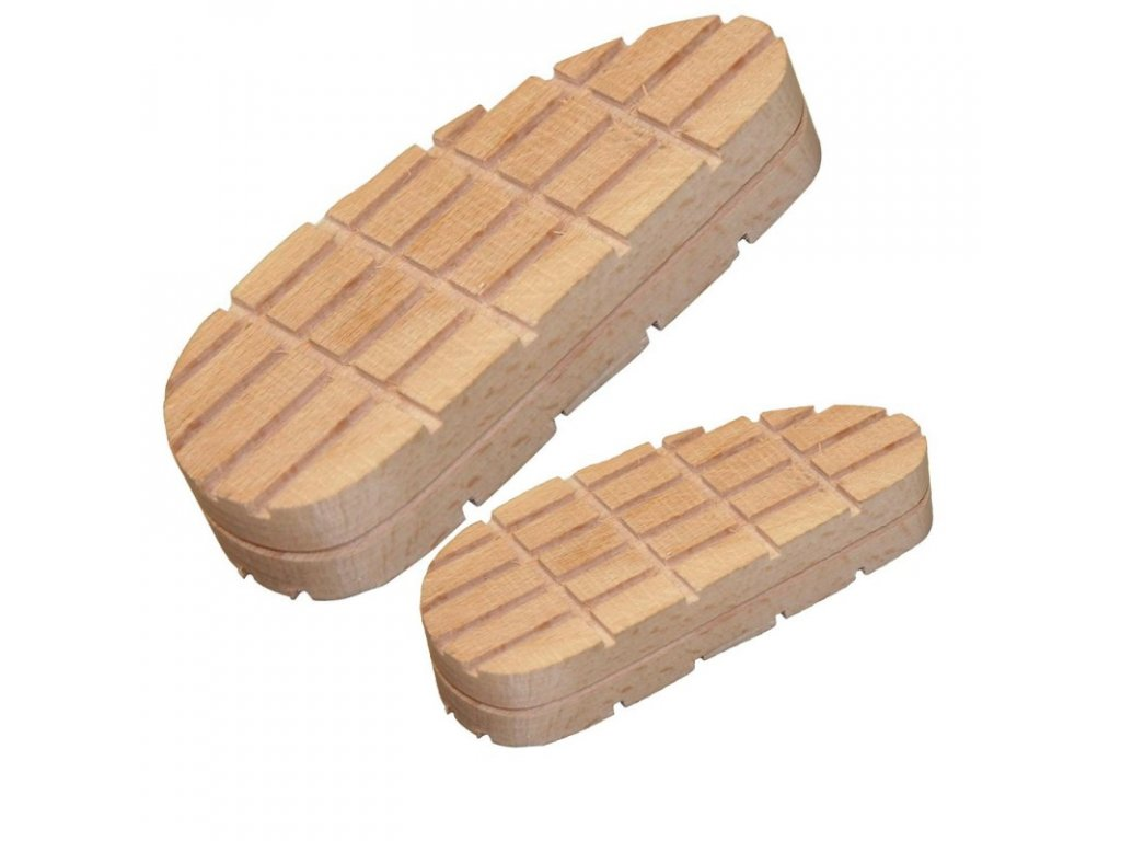 Blok dřevěný na paznehty