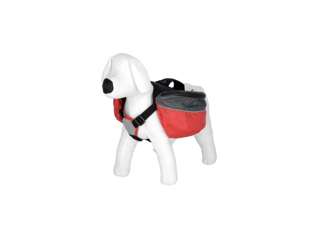 Ruksak na záda pro psa, M, černý, 50-68cm