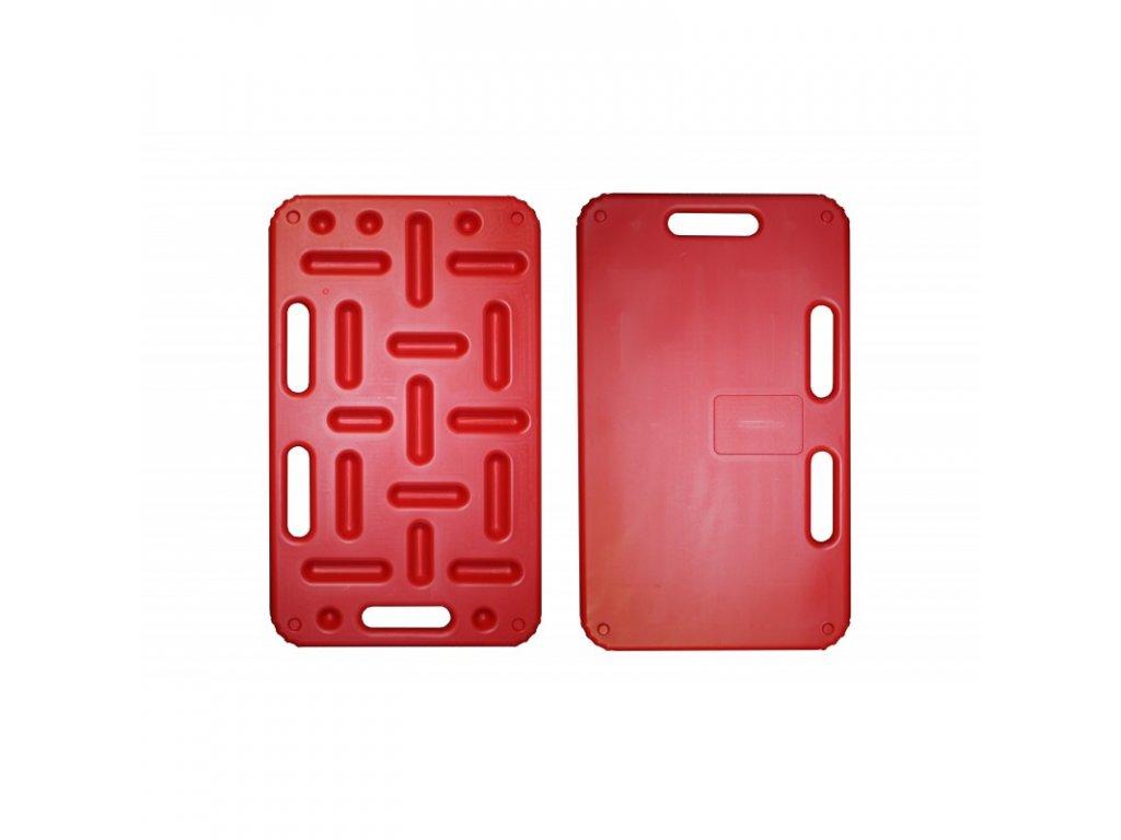 Zábrana dělící a naháněcí STRONG 74 x 45 cm, červená