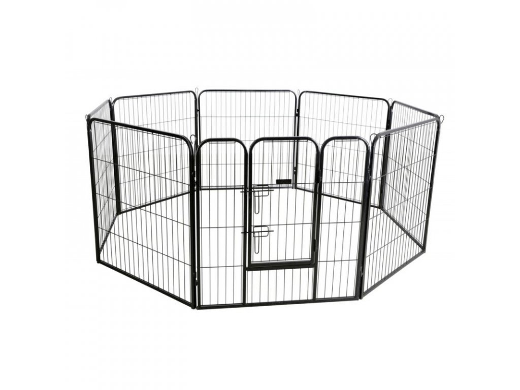 KERBL Výběh variabilní, osmistěnný mřížový, pro psy a štěňata