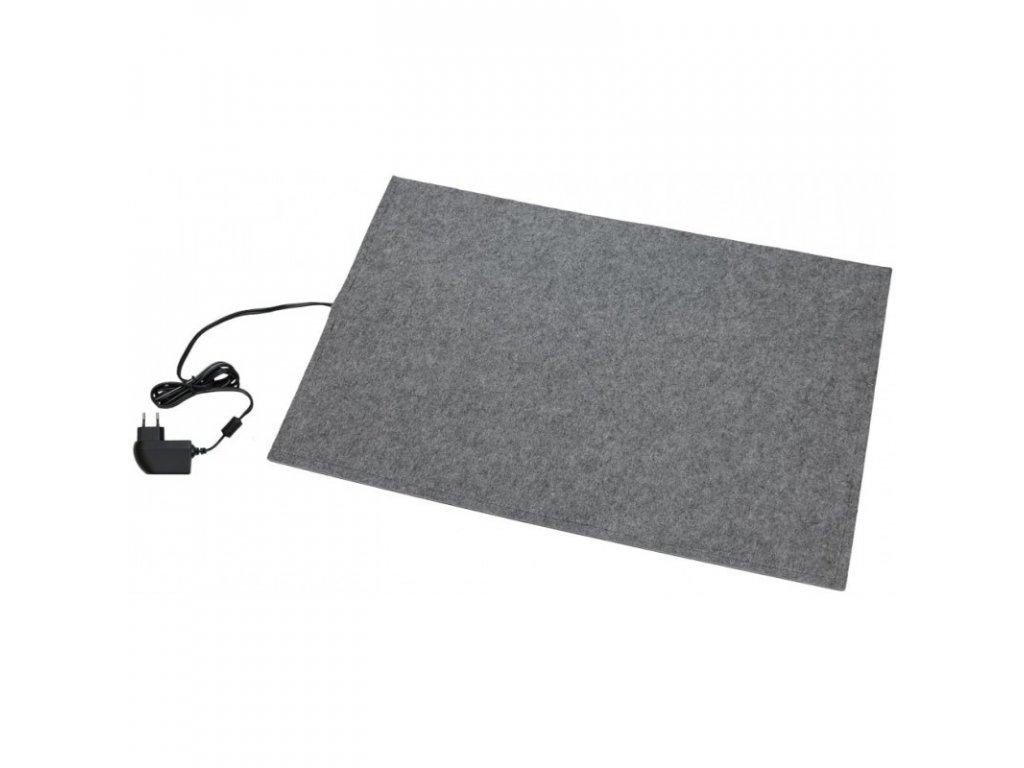 Výhřevná podložka pro psy, topný koberec 58 x 80 cm, 24 V / 50 W