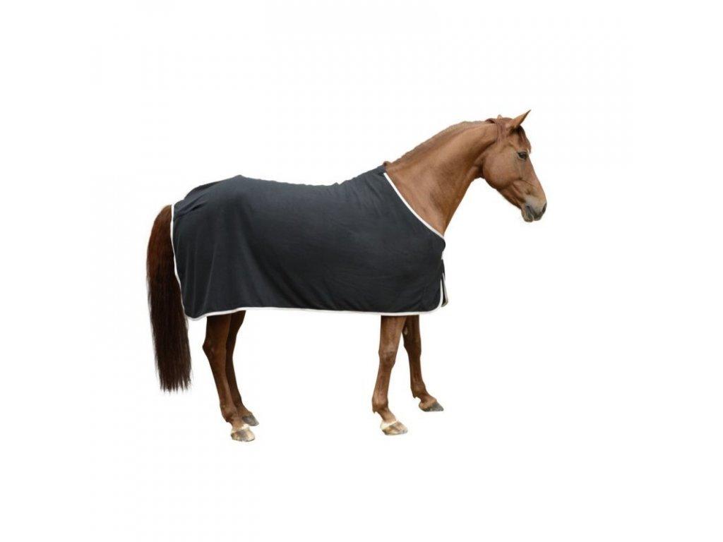 Deka RugBe Economic fleecová černá,135 cm