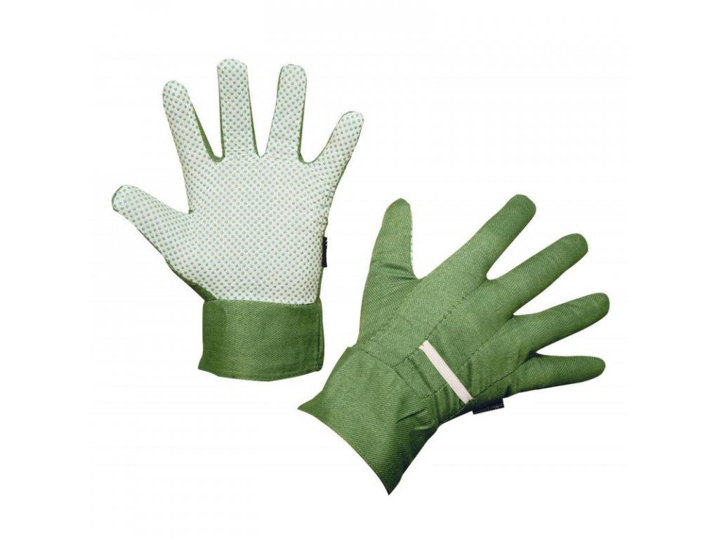 Rukavice pracovní MalGardo pánské, vel.10, zelené