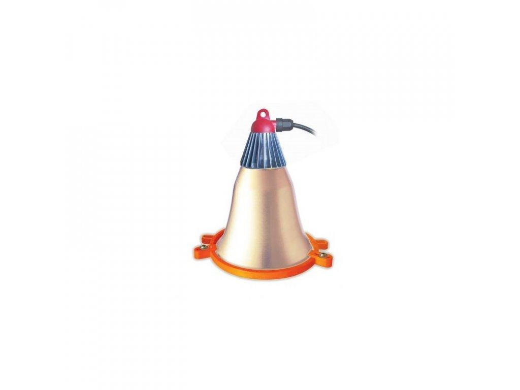 Lampa Interheat s úchytem na budník pro selata
