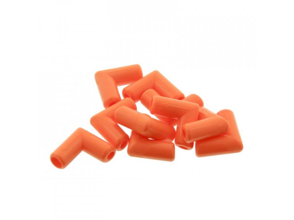 Kolínko oranžové pro cucáky Big Softy, s ventilem, 10 ks
