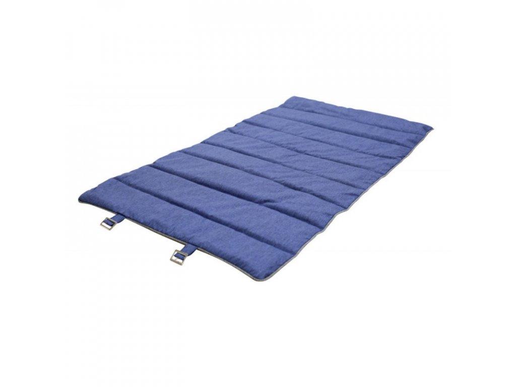 Cestovní matrace pro psy, šedo / modrá, 112 x 67 cm