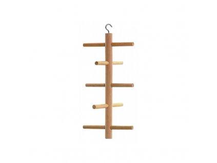 Dřevěná prolézačka pro ptáky