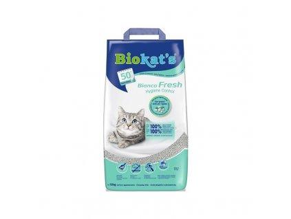 Stelivo pro kočky Gimpet BioKats Bianco Fresh 10 kg