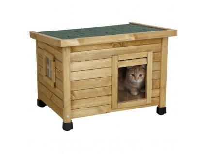 Bouda kočičí, domeček RUSTICA, 57 x 45 x 43 cm