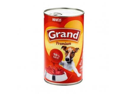 GRAND Premium s hovězím masem - 1300g