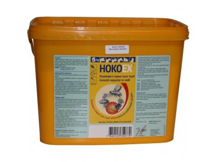 HokoEX - insekticid, larvicid k hubení larev much, 5 kg