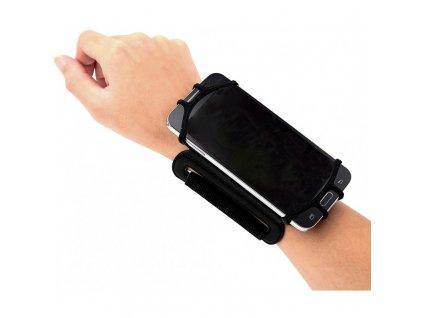 Držák na mobil černý, na zápěstí