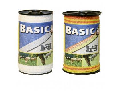 Páska BASIC pro el. ohradník, 10 mm x