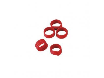 Kroužky na slepice, spirálové, 16 mm, 20 ks