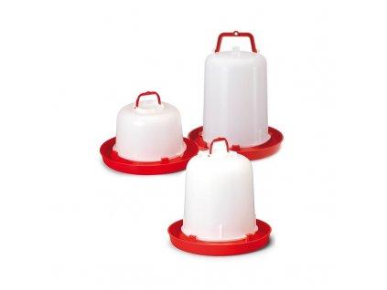Napáječka pro drůbež plastová klobouková, bajonet, River