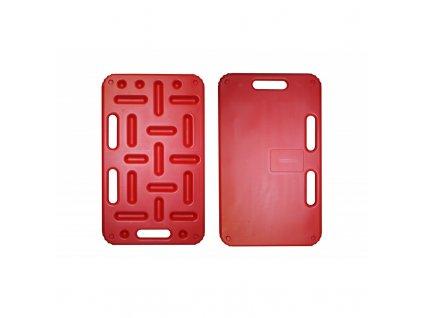 Zábrana malá dělící a naháněcí STRONG, 74 x 45 cm, červená
