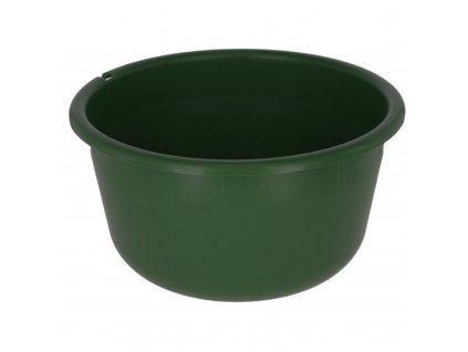 Univerzální plastová mísa na krmení, 8 l, zelená