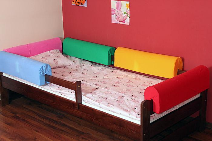 Chrániče - mantinely na postel