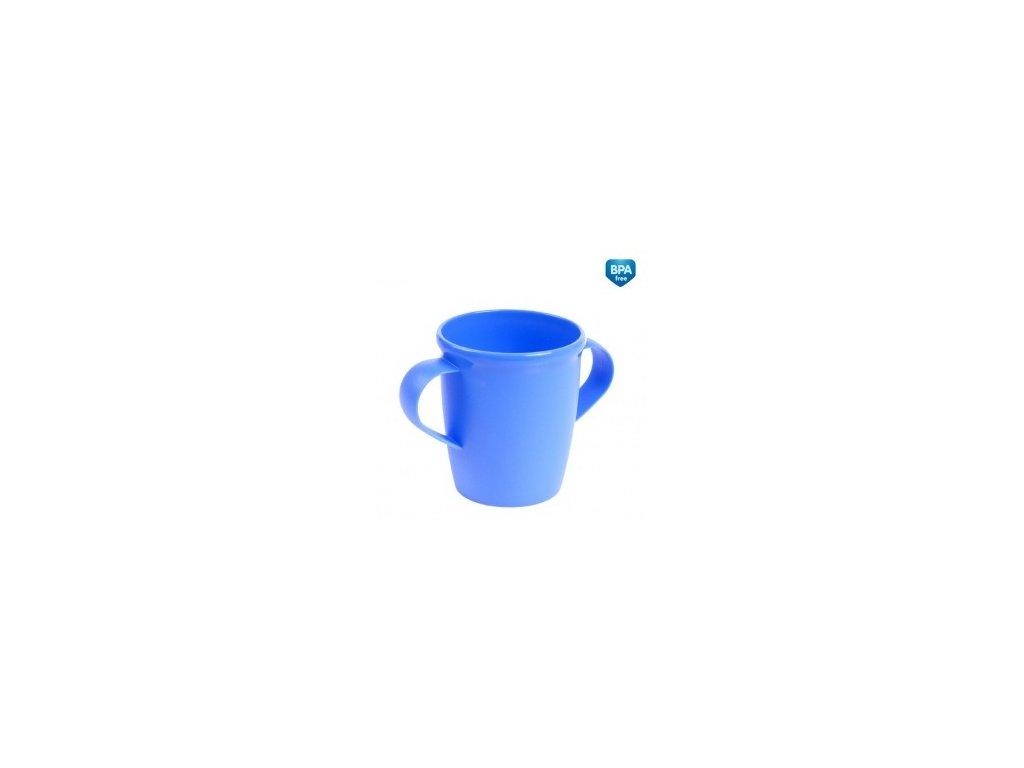 Canpol Babies Hrníček s oušky Basic modrý