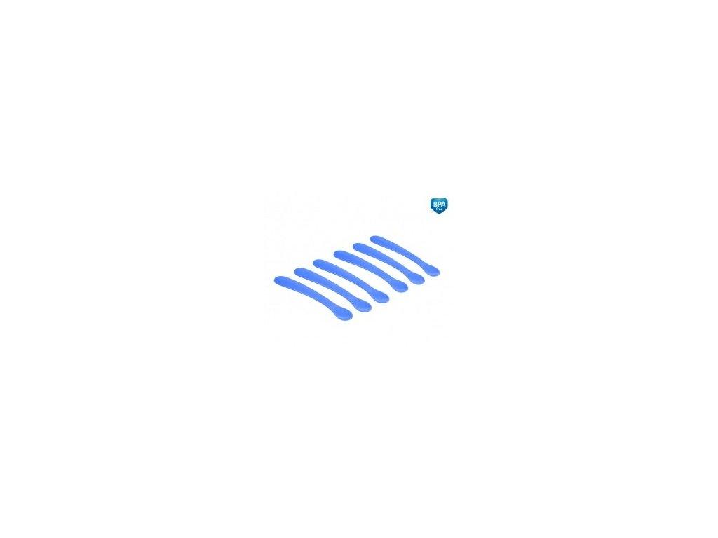 Canpol Babies Plastové lžičky Basic modré