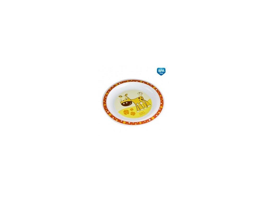 Canpol Babies Plastový talíř 4/411