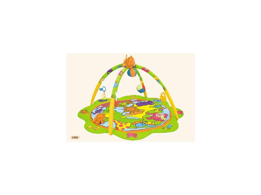 Canpol Babies Veselá hrací deka ZOO