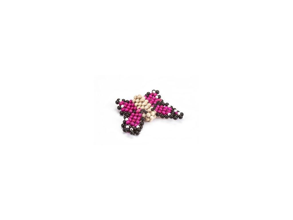 Detoa Zvířátko z perliček - Motýl Detoa