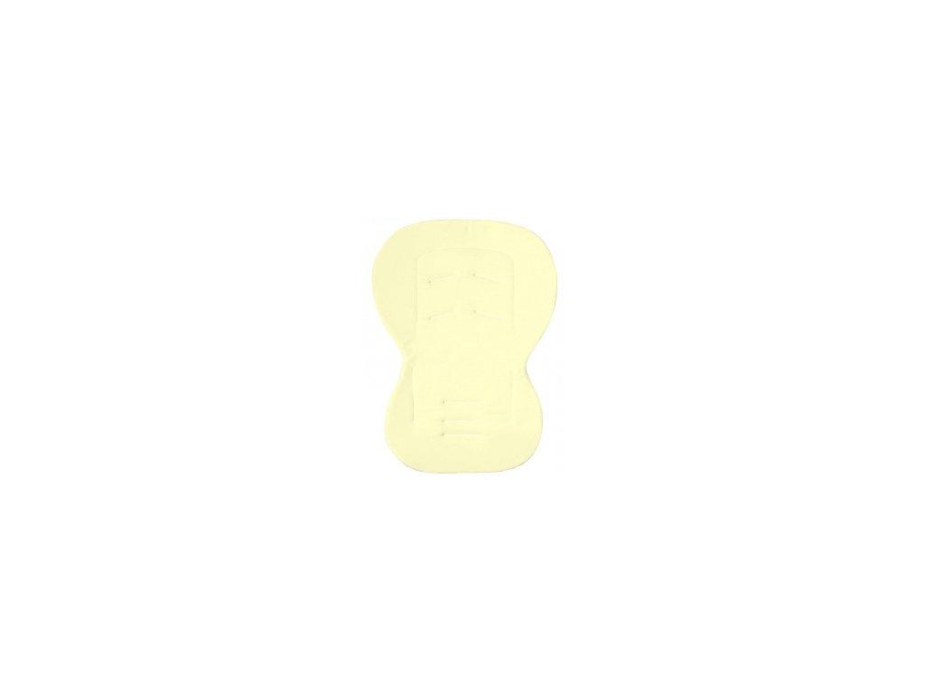 Emitex Unipodložka MOBY - froté žlutá