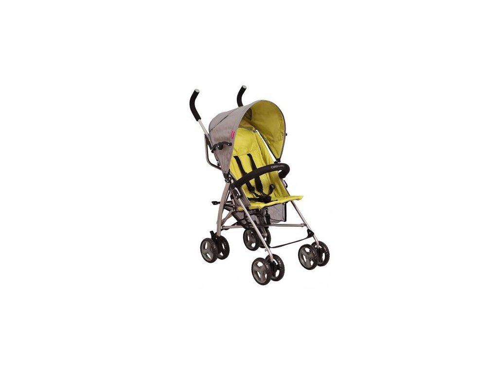 Golfový kočárek RHYTHM Coto Baby 2016 zelená/šedá