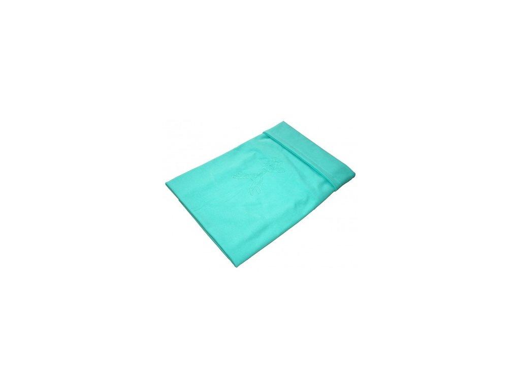 Letní deka bavlna s výšivkou 80x100 cm Aqua Emitex