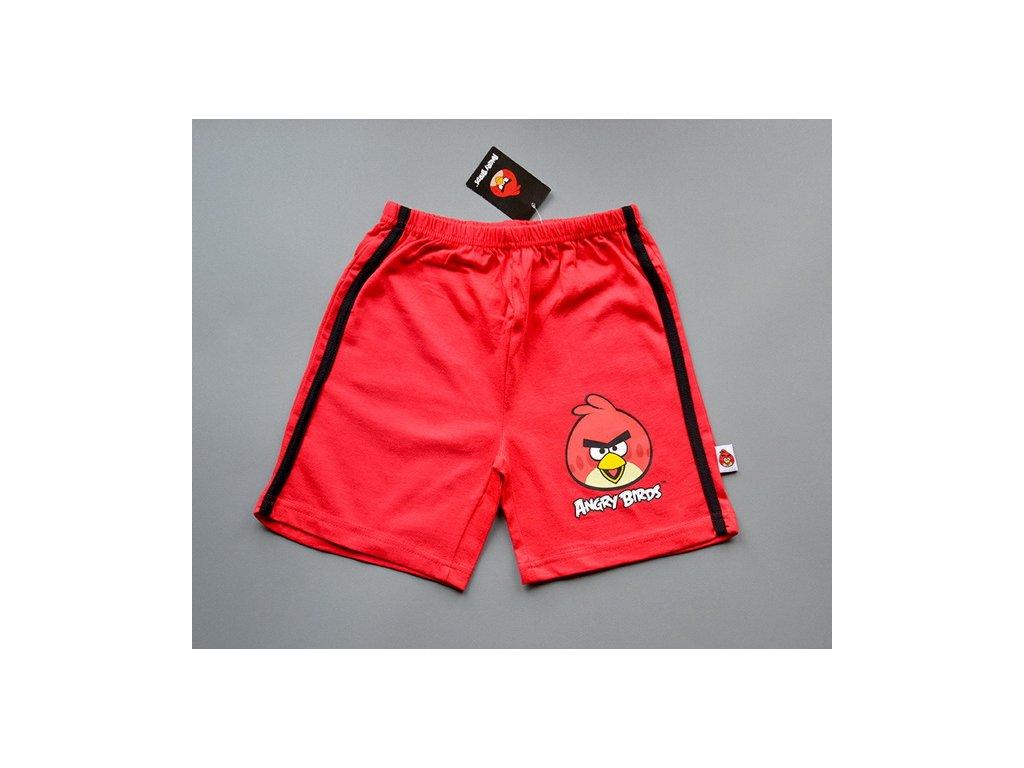 Licenční kraťasy Angry Birds červené 116/122