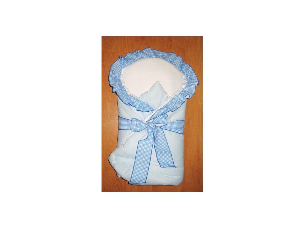 Elan Luxusní zavinovačka s mašlí modrá