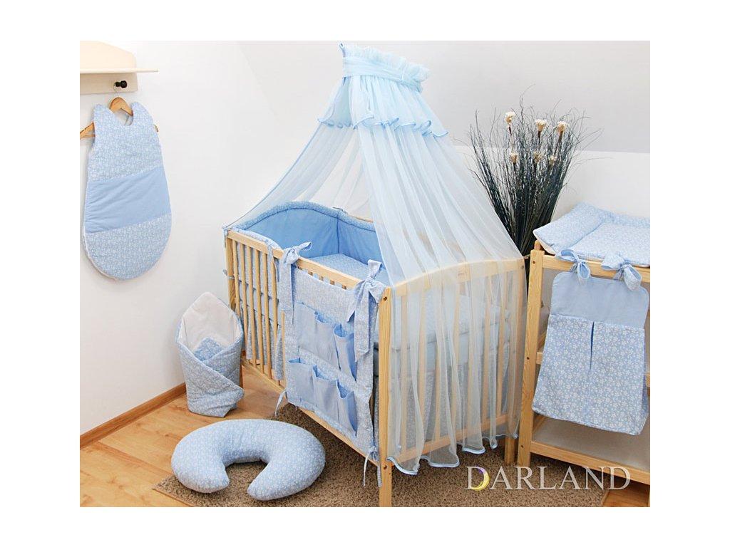 Darland moskytiéra na postýlku modrá