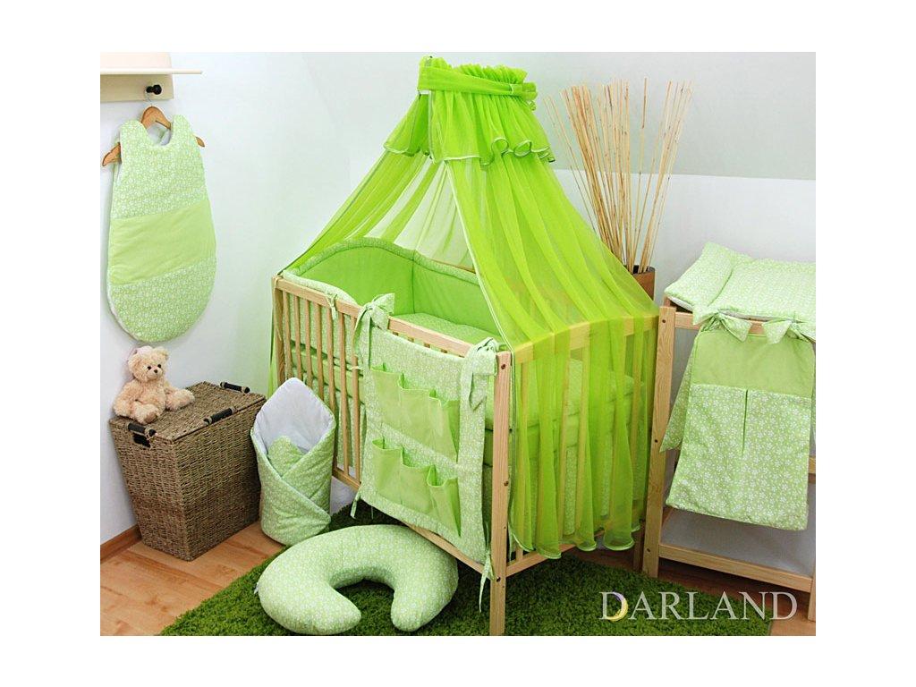 Darland moskytiéra na postýlku zelená