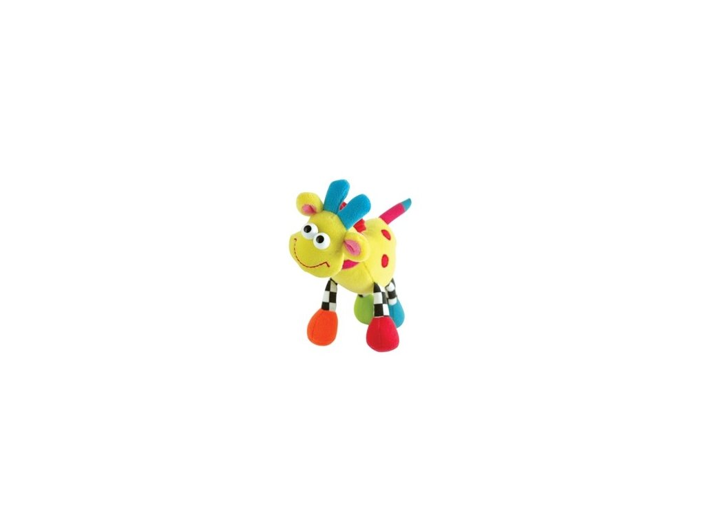 Plyšové zvířátko na zavěšení Žirafa