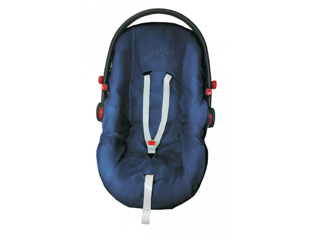 Emitex Potah na autosedačku - bavlněný úplet tmavě modrý