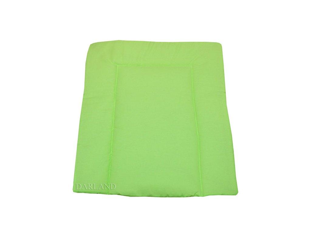 Přebalovací podložka měkká zelená