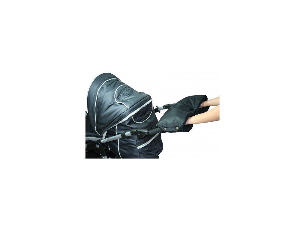 Rukávník ke kočárku černý Emitex