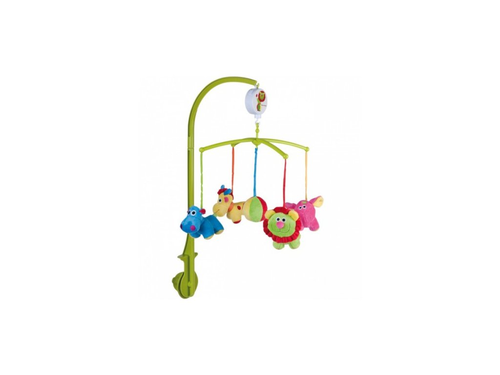 Canpol Babies Plyšový kolotoč Zoo new